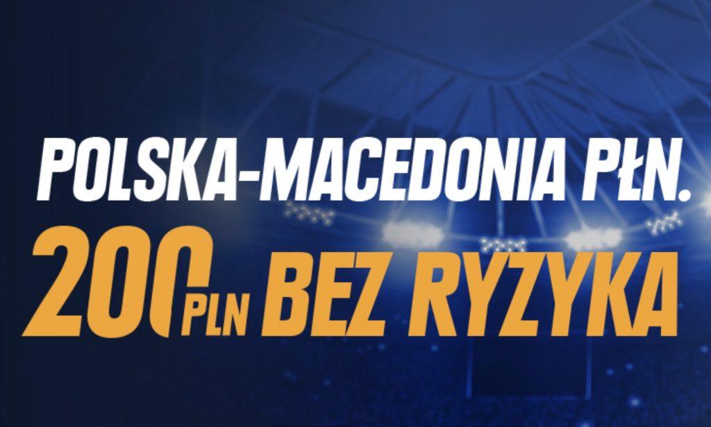 1429 PLN od STS na mecz Polska vs Macedonia Północna. Bonus powitalny na specjalnych warunkach!