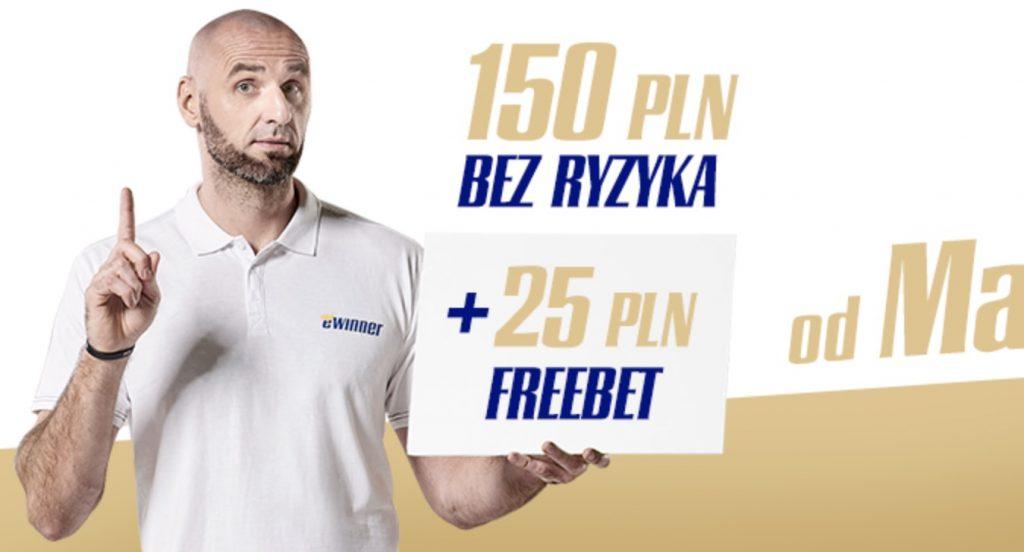 Ewinner freebet 25 PLN. Jak odebrać darmowy zakład?